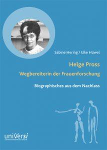 Cover Helge Pross
