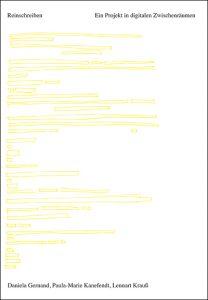 Gernand Reinschreiben Cover mit Rahmen